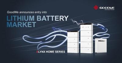 Série de baterias Lynx Home (PRNewsfoto/GoodWe)