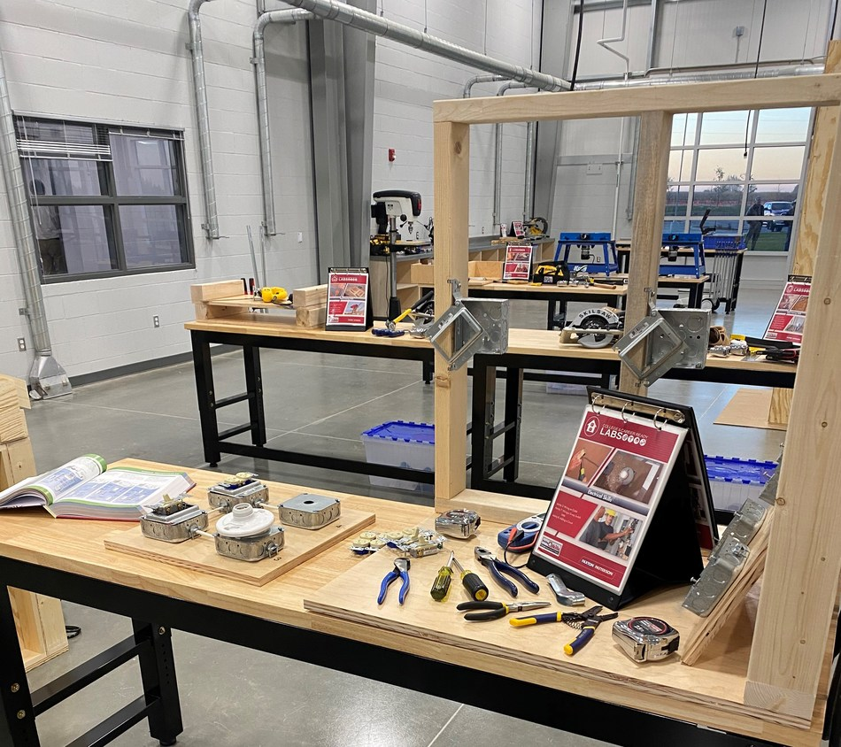 CBH Homes gave over $120,000 to Swan Falls High School in Kuna, Idaho to open a new construction trades program where students can get hands-on experience on things from framing, plumbing, electrical and more.