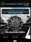 TC Energy exclusive on energy innovation featured for the cover of Canadian Industry