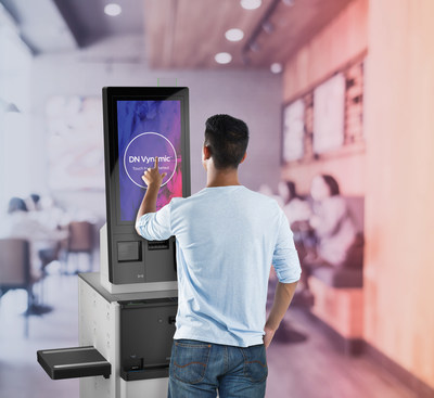 Diebold Nixdorf's EASY eXpress Max is created for high-engagement retail environments. The platform-based approach ensures the solution is easily adaptable to changing business needs and consumer demands.