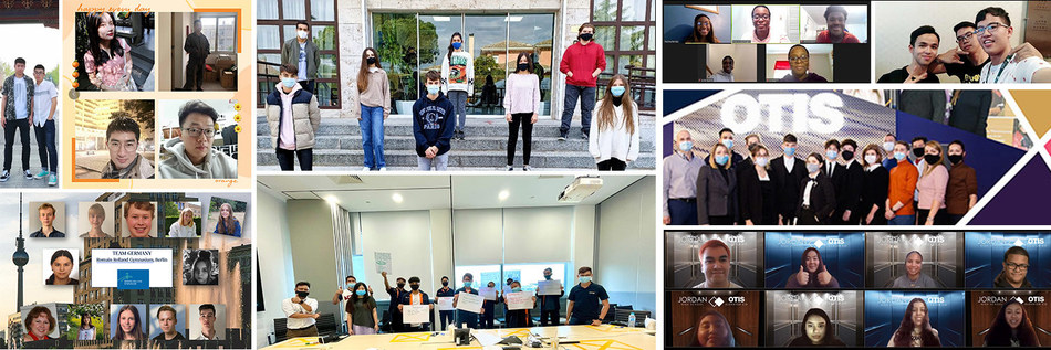 Student teams from 14 schools across nine countries and regions made history as the first cohort to complete Otis' inaugural Made to Move Communities global student challenge.