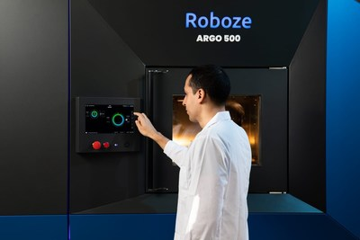 Roboze's Argo 500 3D printer