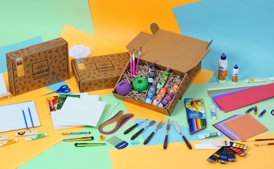 Art kit by The Boxed Art (PRNewsfoto/The Boxed Art)
