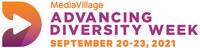 MediaVillage's Advancing Diversity Week: September 20-23, 2021 (PRNewsfoto/MediaVillage)