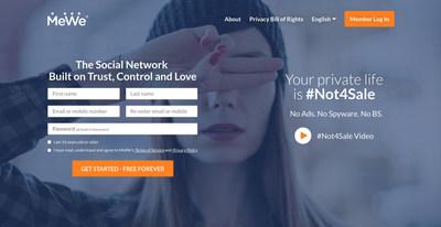 MeWe Homepage