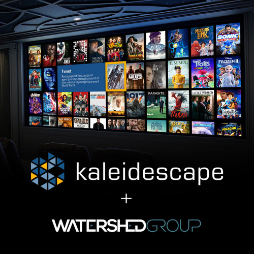 The Watershed Group is committed to supporting its independent customer base in the design and implementation of home cinema with the best brands and technology the market has to offer. Custom installers in Canada can now rely on The Watershed Group to provide Kaleidescape's premium solution offerings.