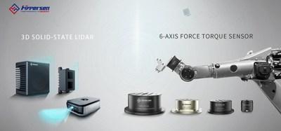 Hypersen 3D Solid-state LiDAR and 6-Axis Force Torque Sensor