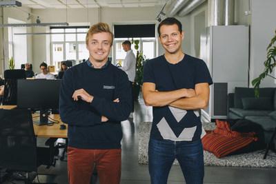 Veriff's founders Kaarel Kotkas and Janer Gorohhov (PRNewsfoto/Veriff)