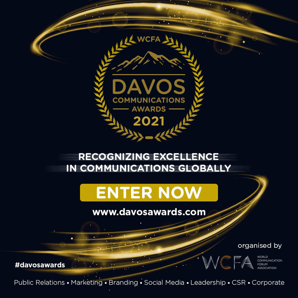 2021 Davos Communications Awards open for entry