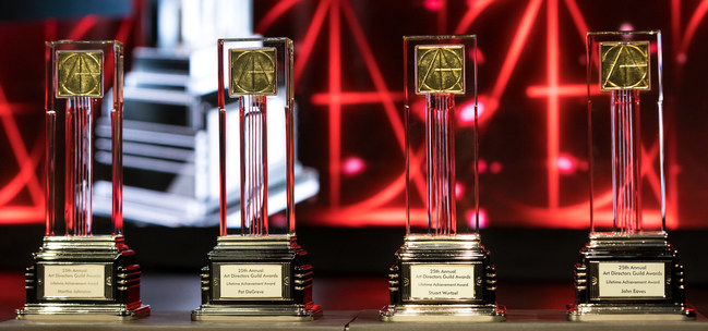The Art Directors Guild (ADG, IATSE Local 800) announced winners of its 25th Annual ADG Awards in 12 categories of film, television, commercials and music videos (photo credit: Greg Doherty).