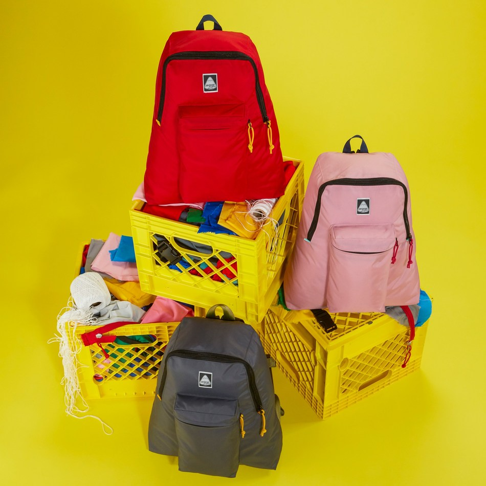 JanSport's Surplus Ski n' Hike collection is made with 100% excess materials.