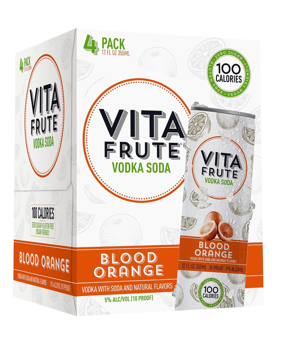 As the weather warms up, Vita Frute Vodka Soda is providing cool adult refreshment with its new original mix 12-pack featuring the latest Vita Frute flavor, Blood Orange.