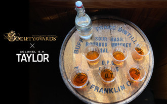A final tasting of select E.H. Taylor barrels before selecting our exceptional barrel.