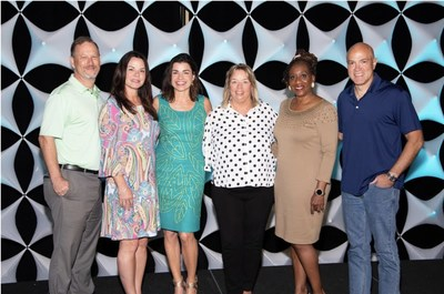 (left to right): Craig Schaeffer, Chief Assistant State Attorney, State Attorney's Office, 12th Judicial Circuit, Florida; Kim Westfall, Founder/CEO of Uncaged; Elizabeth Fisher Good, Co-Founder/CEO of The Selah Way Foundation and Author of Groomed (Harper Collins); Laurie Swink, Co-Founder/Executive Director of Selah Freedom; Dr. Stephany Powell, Master Trainer, National Training Cadre, The Selah Way Foundation; and Captain Demetri Konstantopoulos, Sarasota Police Department.