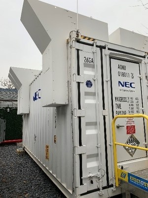 Con Edison's 1-megawatt/1 megawatt hour system on the North Shore of Staten Island. This was the first system the company and GI Energy installed under a demonstration project.