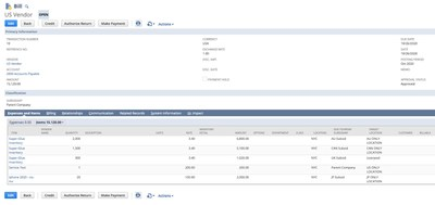 Centralized Purchasing Dashboard in NetSuite