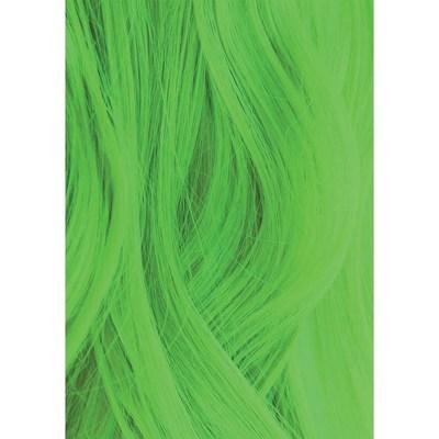 Iroiro 350 Neon Green Premium Natural Semi-Permanent Hair Color, Color Swatch