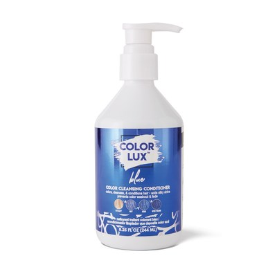 Color Lux Color Cleansing Conditioner, Blue, Product Image