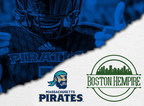Boston Hempire Signs Big Deal with IFL's Mass Pirates for 2021 Season