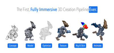 Take your 2D creative skills into 3D, from concept to animation.