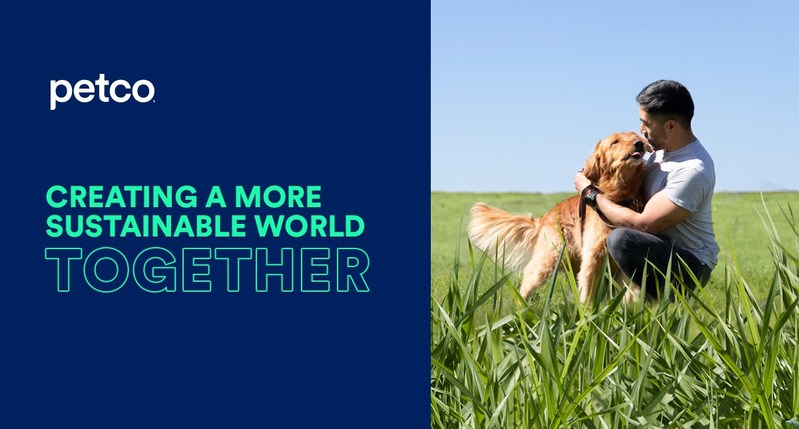 Petco Commits to Increasing Its Assortment of Sustainable Pet Products to 50% By the End of 2025