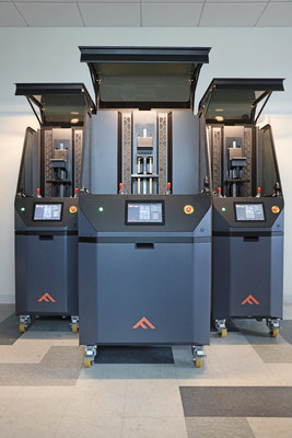 Fortify's FLUX Series printers include the FLUX CORE, FLUX ONE, and FLUX 3D for high performance applications