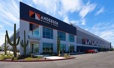 Andersen's new manufacturing facility in Goodyear, Ariz., expands production of the 100 Series, one of its fastest growing product lines and one with many glass options that make them ENERGY STAR certified.