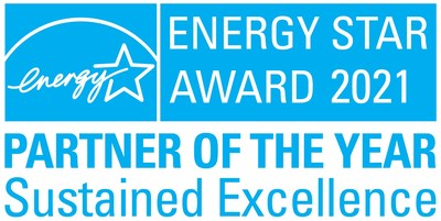 Andersen Corporation named 2021 ENERGY STAR® Partner of the Year Sustained Excellence Award winner - the highest honor given by ENERGY STAR for leadership in energy efficiency.