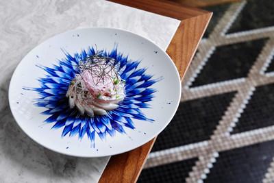 Shima Aji Sea Bream, Sashimi Style, by Chef and Proprietor David Kinch