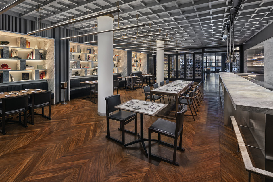 INTERSECT BY LEXUS second-floor dining room