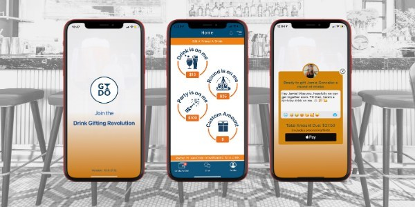 Buy a friend a drink at any bar, brewery or winery in the world with GYDO