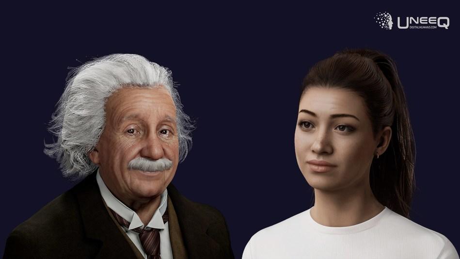 Digital Einstein and Sophie