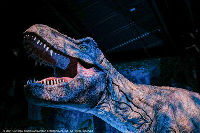 Photo credit: Jurassic World: The Exhibition © 2021 Universal Studios and Amblin Entertainment, Inc.  All Rights Reserved.