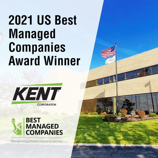 2021 US Best Managed Companies Award Winner