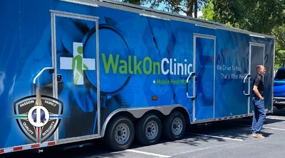 Q1 brought vaccines directly on-site via The Walk On Clinic, a private company that uses solar mobile units to provide convenient healthcare solutions at the workplace.