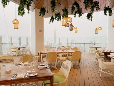 Fi'Lia opens at the SLS Dubai, helmed by Chef de Cuisine, Sara Aqel, leading an all-female team. The opening of Fi'lia Dubai marks the fourth globally and the first in the Middle East.