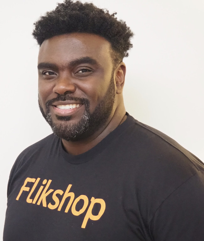 Marcus Bullock, founder of Flikshop, a 2020 Founders of Color portfolio company.