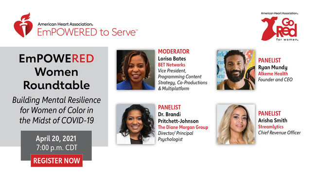 EmPOWERED Women Roundtable virtual event: Building Mental Resilience for Women of Color in the Midst of COVID-19