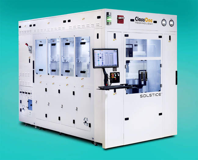 ClassOne Technology's Solstice S8 Semiconductor Electroplating System