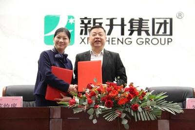 Ms. Qiu Yezhi & Mr. Deng Jianbin