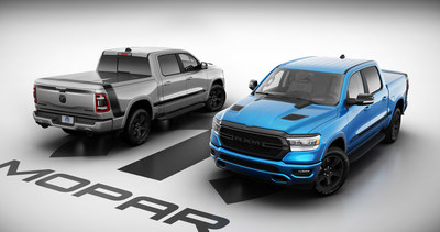 Today in North America, Stellantis announced a new, limited-production vehicle built with a package of unique performance parts and accessories from the Mopar Custom Shop – the new Mopar '21 Ram 1500 Special Edition. Available exclusively on the 2021 Ram 1500 Big Horn/Lone Star Crew Cab 4x4, the new Mopar '21 Ram 1500 adds a variety of Mopar accessories to set it apart and reinforce the no-compromise, benchmark styling of the most awarded light-duty truck in America.
