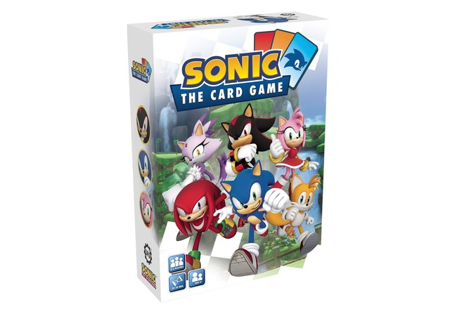 Sonic: The Card Game from Steamforged Games launches September 2021, RRP: $19.95