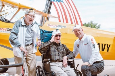 More than 4,200 seniors and veterans have experienced the magic of a Dream Flight, including these World War II heroes from Wisconsin.