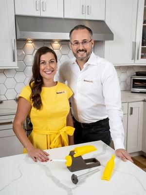 Inventors of Banana Loca - Renee and Bechara