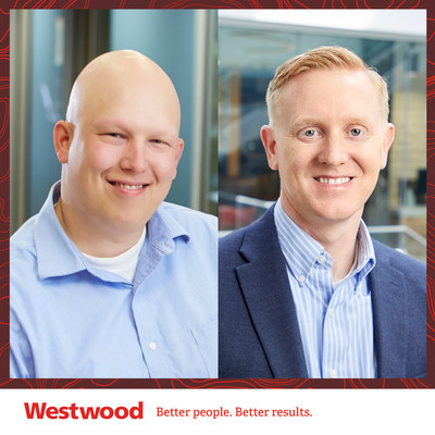 Westwood's Rob Copouls, PE, appointed to Senior Vice President, Land Division, and Dan Beckmann, PE, appointed to Senior Vice President, Power Division.