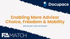Docupace and FA Match Form Strategic Partnership for...