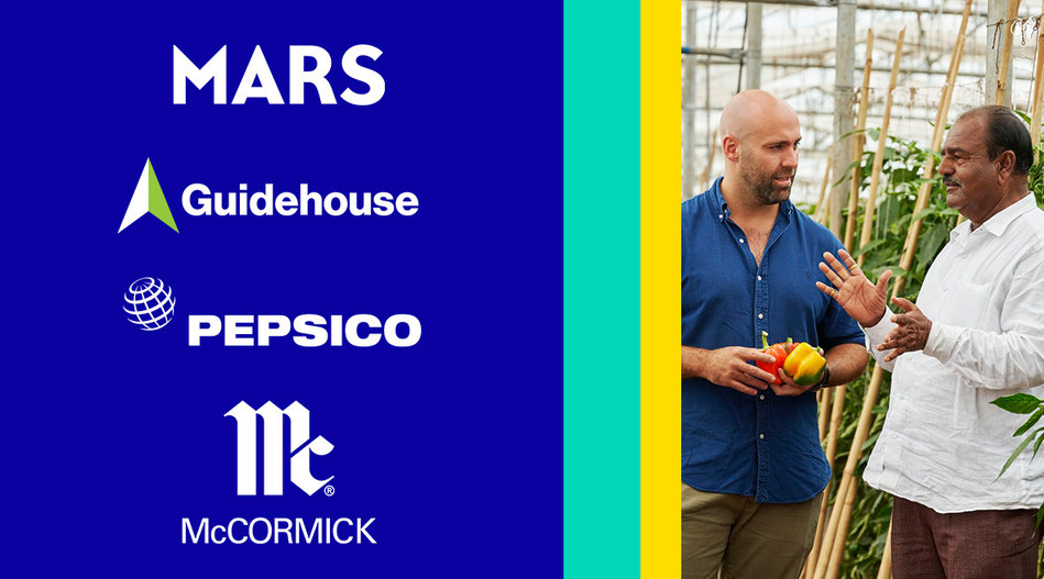 Mars, Incorporated partners with Guidehouse, McCormick and PepsiCo, enlisting suppliers to create climate action plans and reduce their impact on the planet.