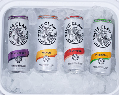 White Claw® Hard Seltzer Launches New Flavors and Higher-ABV White Claw® Hard Seltzer Surge