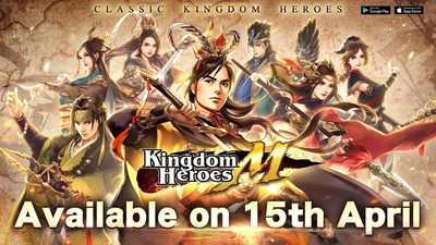 Mobile game masterpiece Kingdom Heroes M officially launched on iOS and Android PChomeSEA crossover event kicks off
