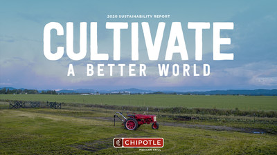 Chipotle's 2020 Sustainability Report covers the company's impact, progress, and goals across a variety of areas that play a critical role in its mission to Cultivate a Better World. Chipotle achieved a 51% waste diversion rate through recycling, composting, and waste-to-energy programs, reaching a key goal outlined in its 2018 Sustainability Report.